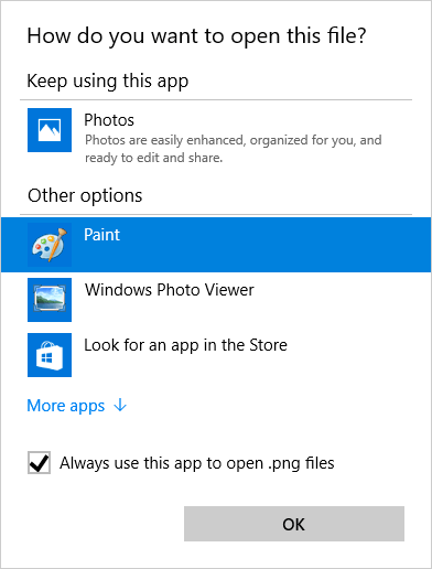 How do I change file associations in Windows 10?.