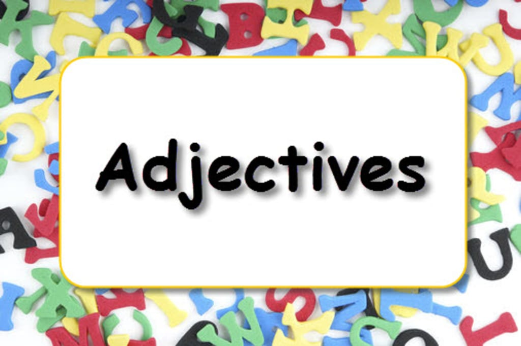 All About Adjectives.