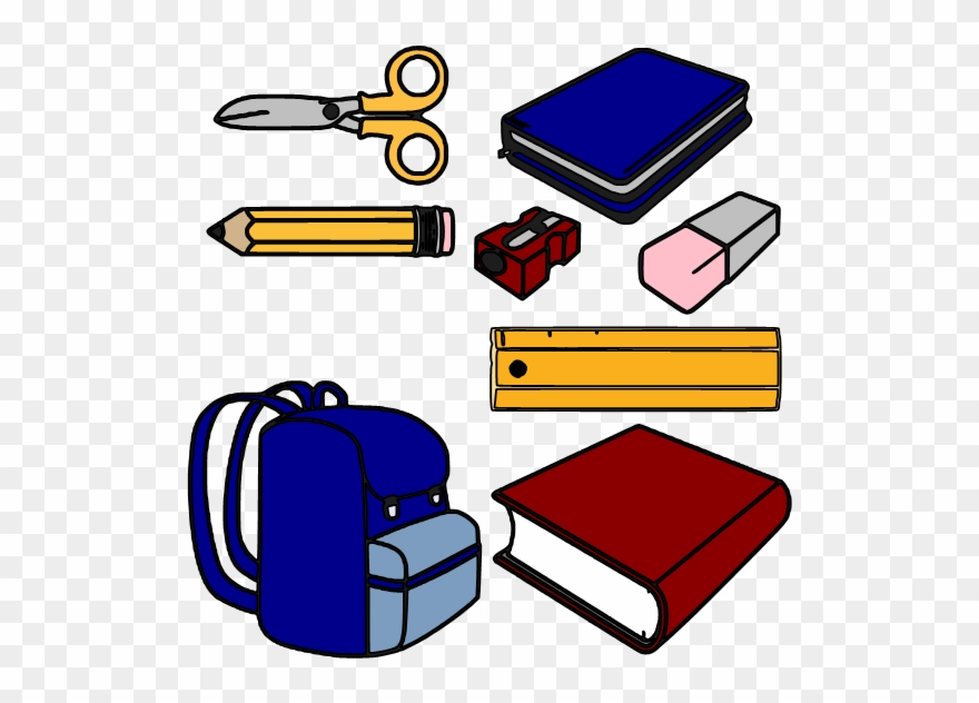 Clipart Border School Supply.
