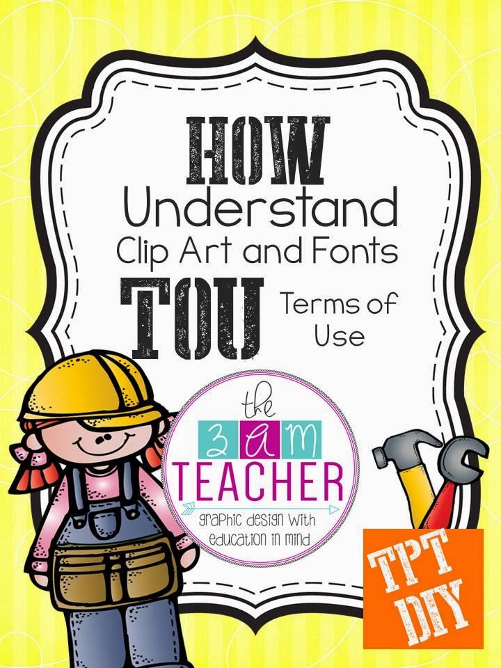 Using clipart on teachers pay teachers.