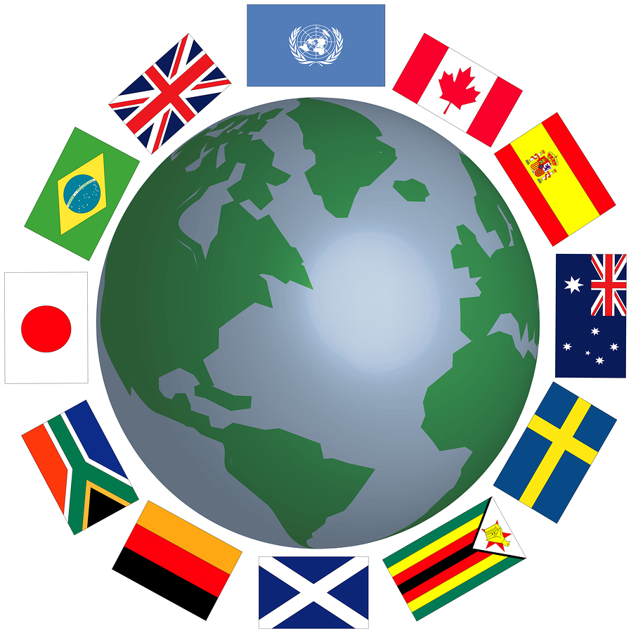 World Country Clipart.