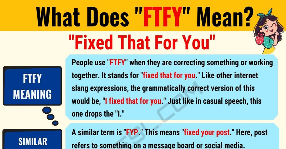 FTFY Meaning: What Does FTFY Mean? Useful Text Conversations.