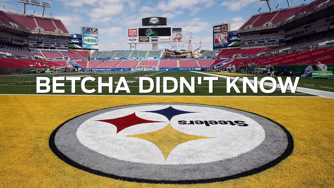 Why is the Pittsburgh Steelers Logo Only on One Side?.