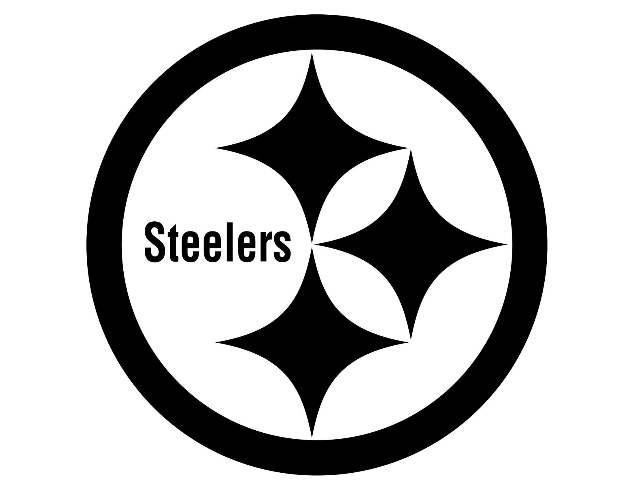 Meaning Pittsburgh Steelers logo and symbol.