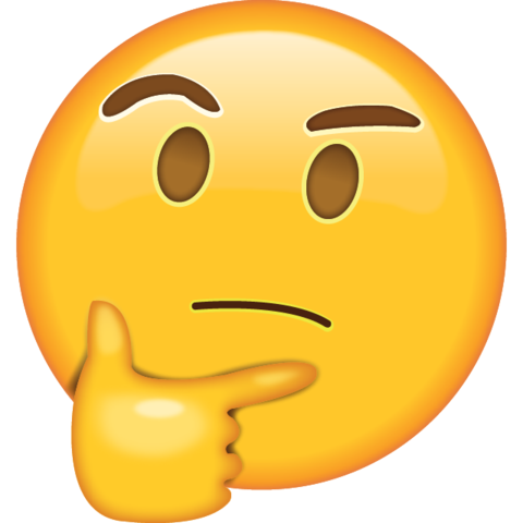 Thinking Emoji.