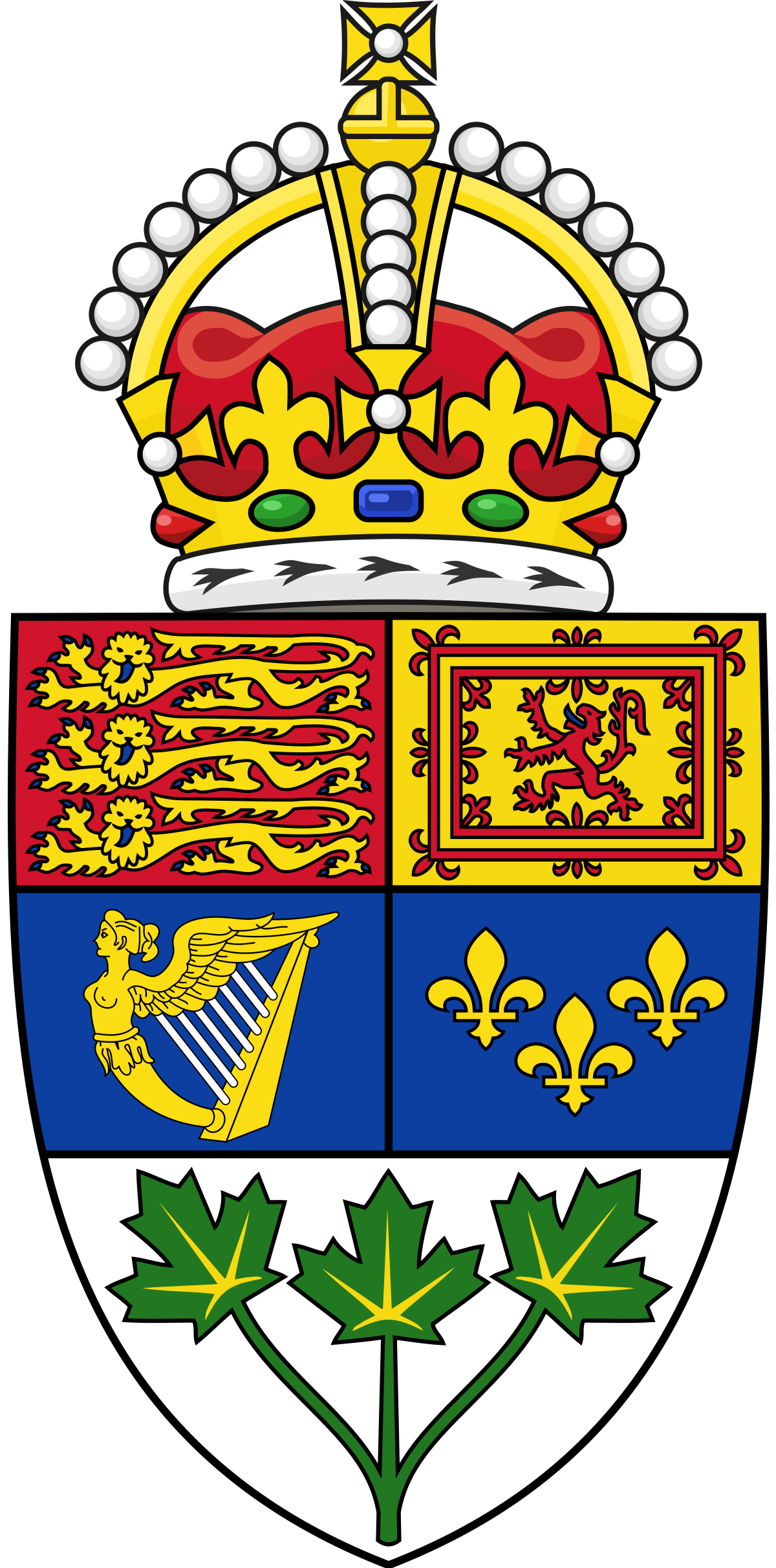 File:Royal Shield of arms of Canada (1921.