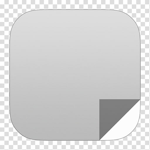 IOS Set , gray file extension transparent background PNG.