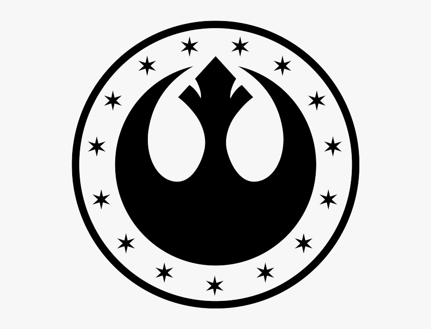 Star Wars Symbols New Republic Clipart , Png Download.
