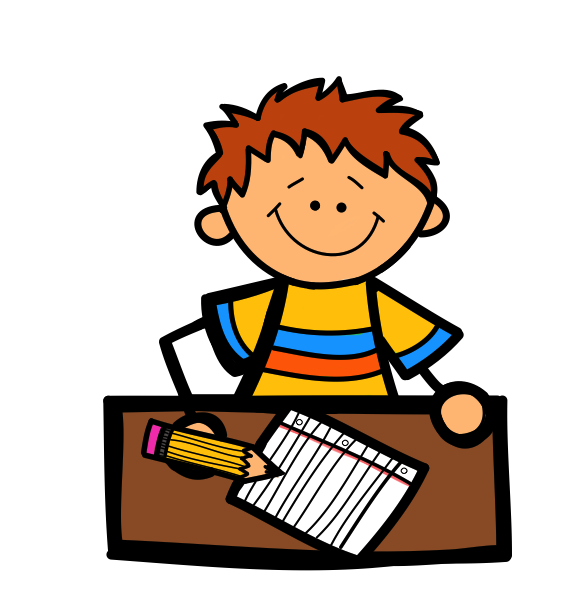 Letter a letter writing clipart clipartfest boy.
