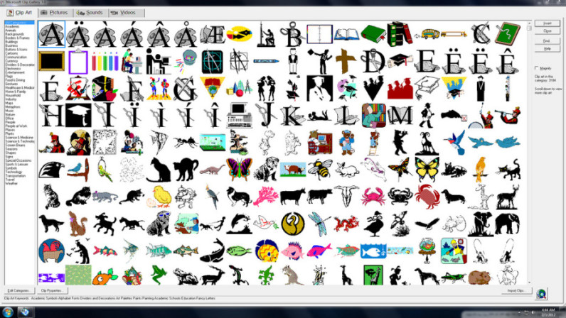 What Happened To Microsoft Clipart & Free Clip Art Images #20802.