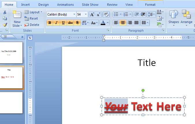 Add formatting to WordArt text : WordArt « WordArt Picture Clip Art.