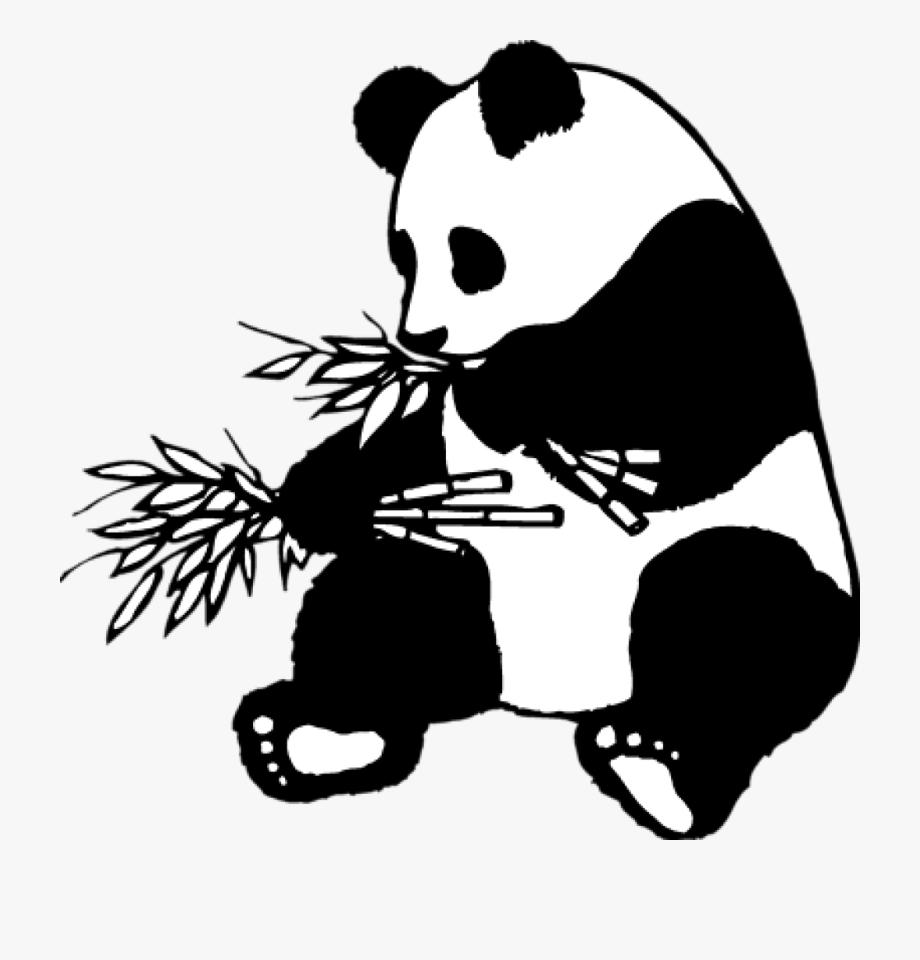 Giant Clipart Panda Bear.