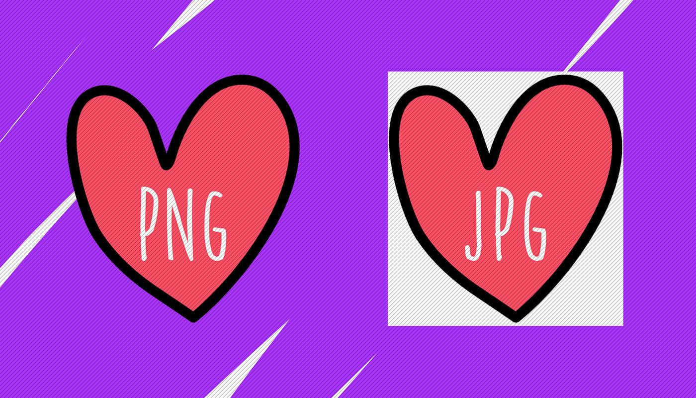 Do you know the difference between JPG and PNG?.