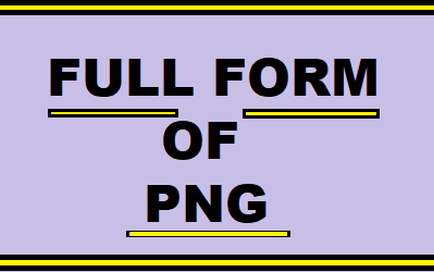 Full form of png » PNG Image.