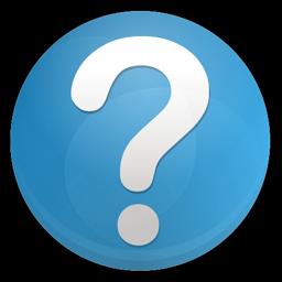 Question faq Icon.