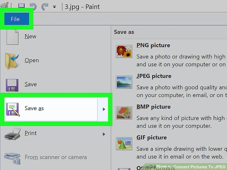 5 Ways to Convert Pictures To JPEG.