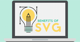 Benefits of using SVG (Scalable Vector Graphics).