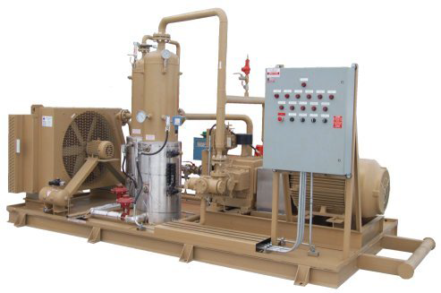 High Pressure Gas Compressor.