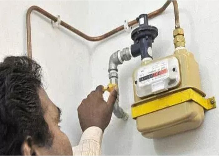 Now Piped natural gas connection PNG in installments Latest Hindi.
