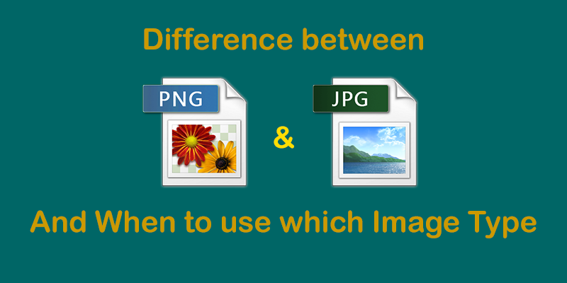 Difference Between JPEG and PNG That No One Tells You.