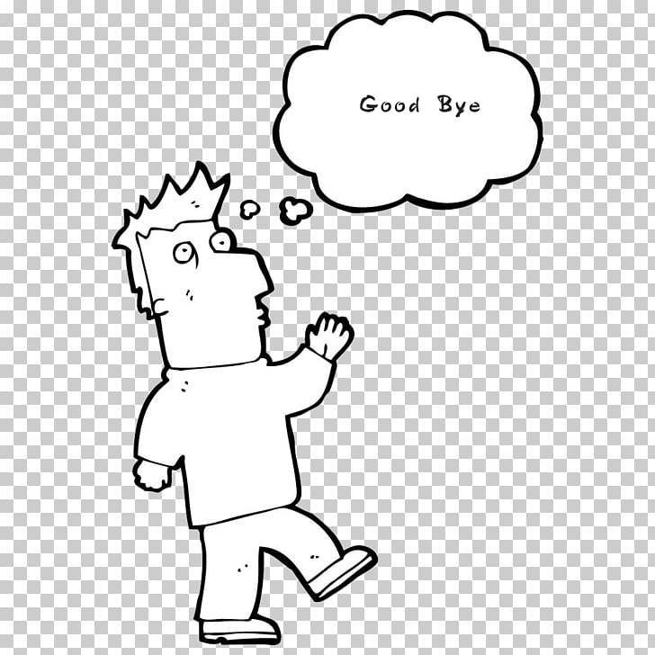 Drawing Meaning , Jane stroke goodbye PNG clipart.