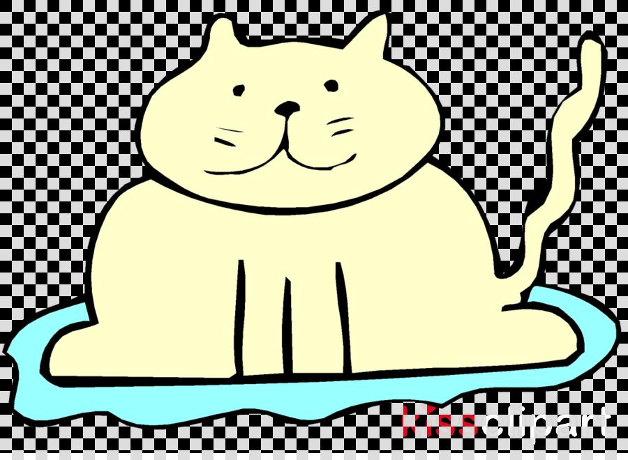 cat cartoon head small to medium.