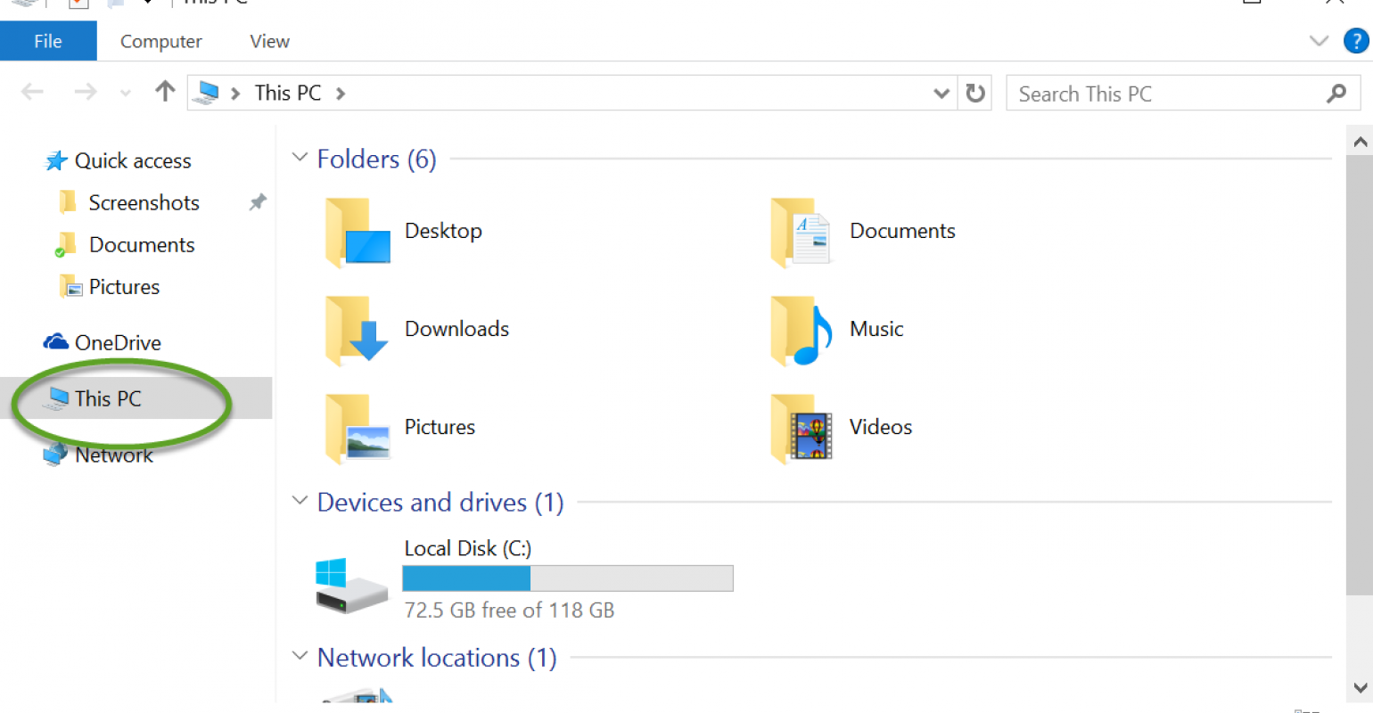 How To: Change How Windows 10 File Explorer Opens.