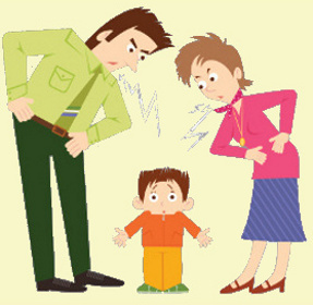 Parents Saying No Clipart.