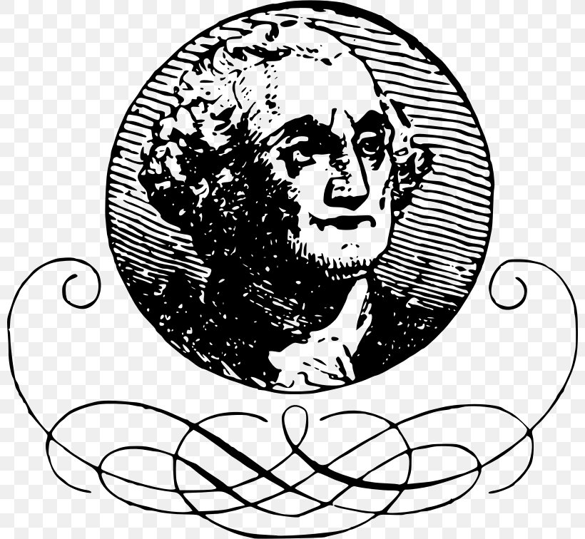 Attempted Theft Of George Washington\'s Head Clip Art, PNG.