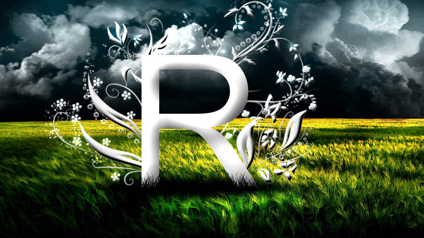 R love s name clipart.