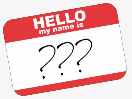 Free Name Clip Art with No Background.