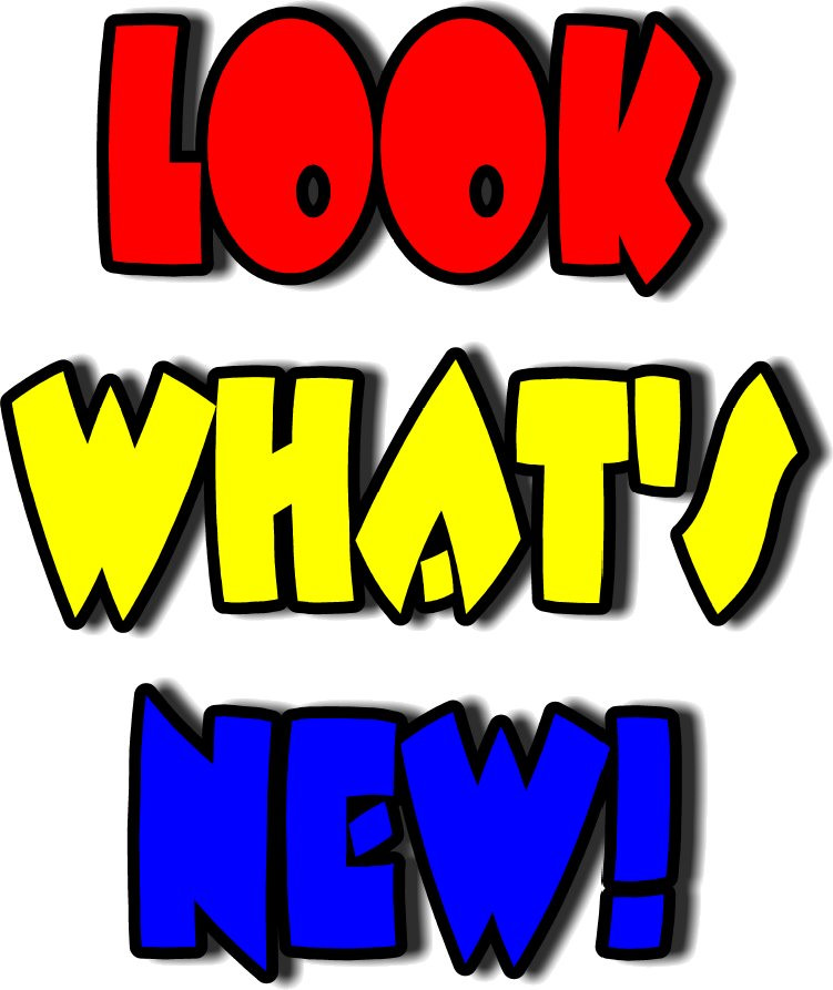 What\'s New Clipart.