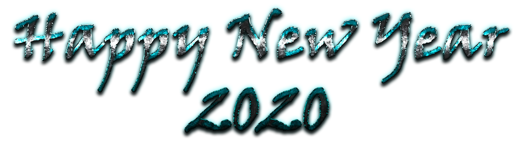 New Year 2020 PNG Images Transparent Free Download.
