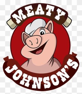 Meaty Johnson\'s Bbq Menu Clipart (#780143).