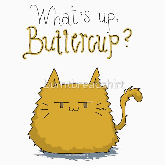 What\'s up, Buttercup?, a t.