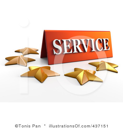 Service Excellence Clipart.
