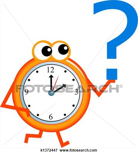 It\'s Time Clipart.