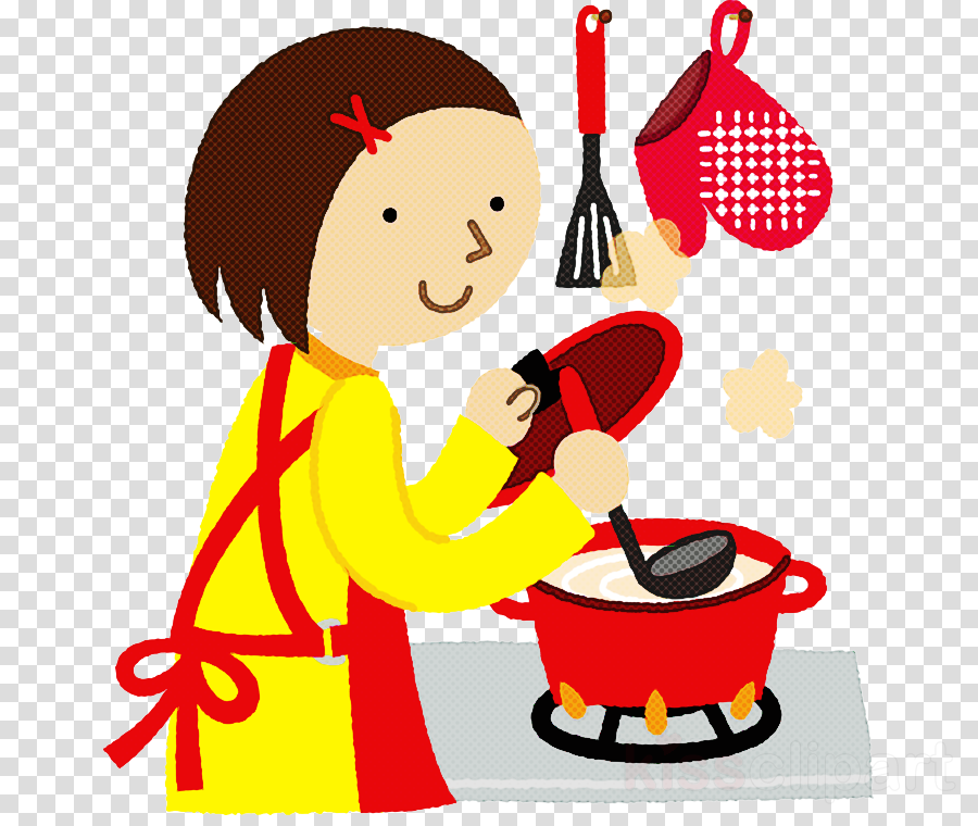 cartoon clip art cleanliness cook play clipart.