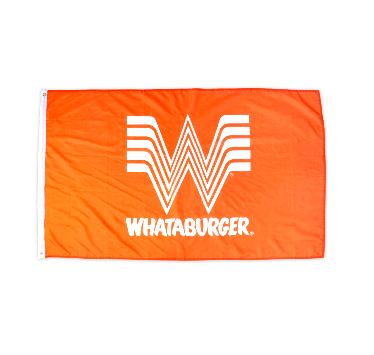 Orange Whataburger Flag.