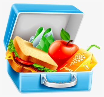 Free Lunch Clip Art with No Background.