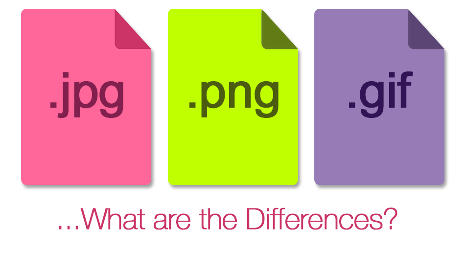 JPEG, PNG, or GIF: What are the differences?.
