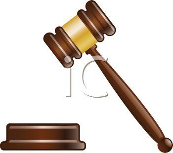 Verdict Clipart.