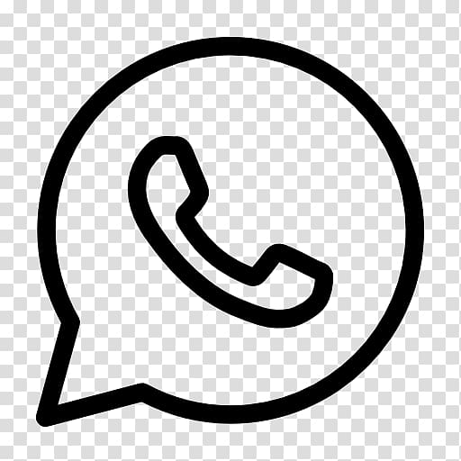 WhatsApp Icon Logo , Whatsapp logo transparent background.