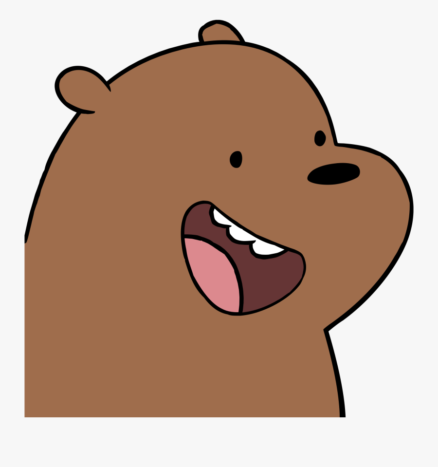 We Bare Bears Whatsapp Stickers , Free Transparent Clipart.