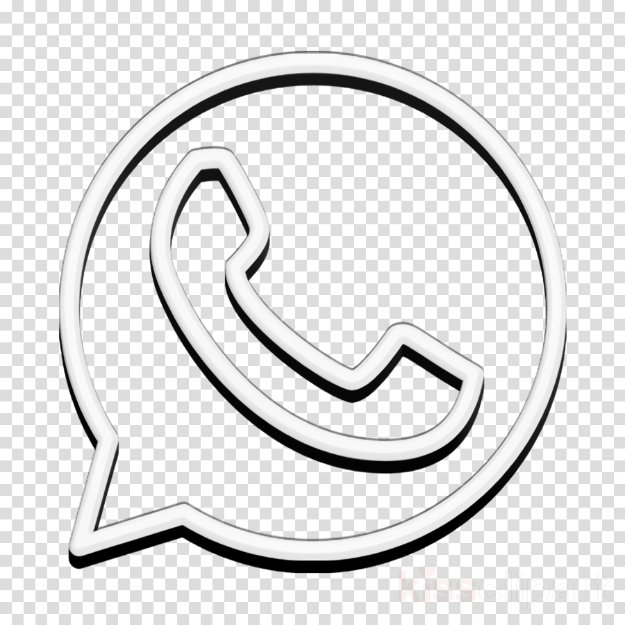 Whatsapp icon Brand icon clipart.