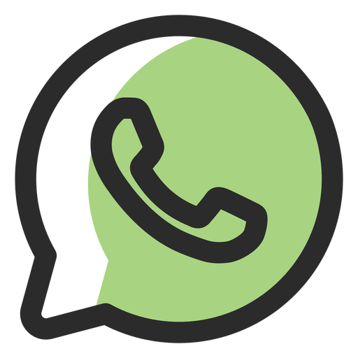 Whatsapp colorido png Transparent pictures on F.