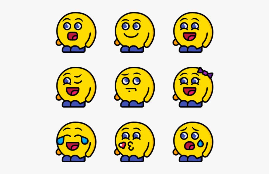 Emoji Whatsapp Png Pack.