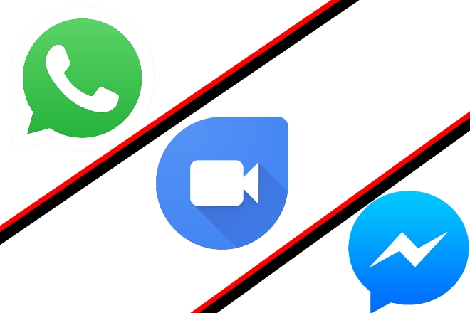 WhatsApp vs Google Duo vs Facebook Messenger: The best video.