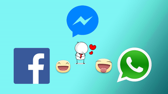 How to Use Facebook Messenger Stickers in WhatsApp.