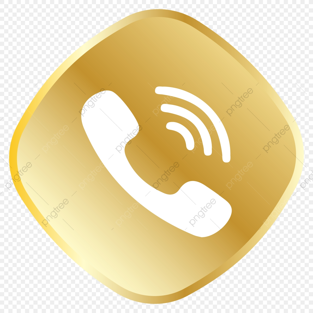 Golden Call Icon Whatsapp Logo, Whatsapp, Royal, Golden PNG and.